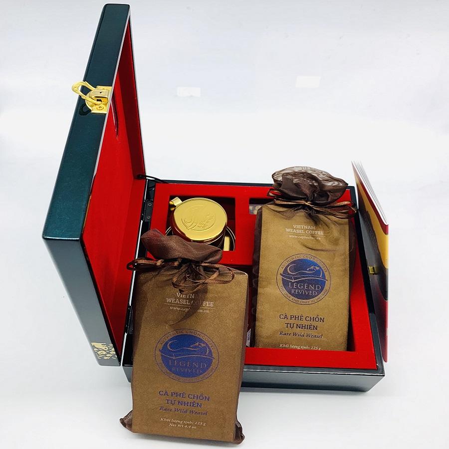 Cà phê Chồn Tự Nhiên 250 gam