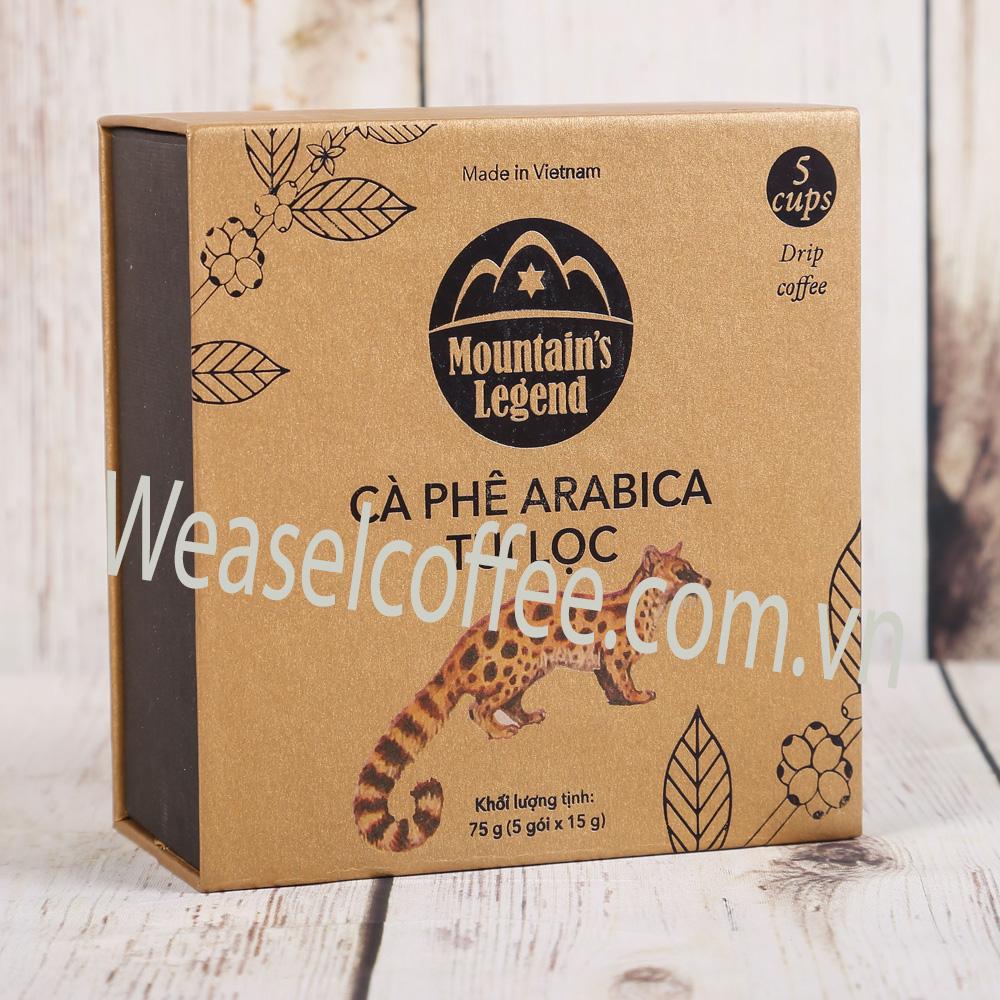 Chồn túi lọc Arabica