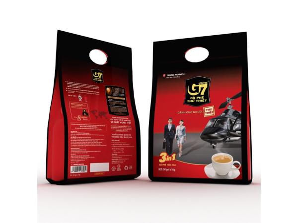 Cà phê G7 hòa tan 3in1-50 gói