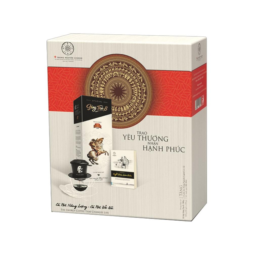 Cà phê Sáng tạo 8 Hộp Quà Tết