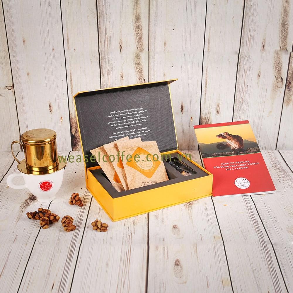 Cà phê Chồn Combo  hộp giấy 51gam