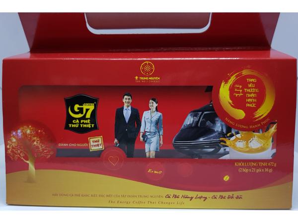 Hộp G7 năng lượng hạnh phúc( 2 hộp G7-21 gói)