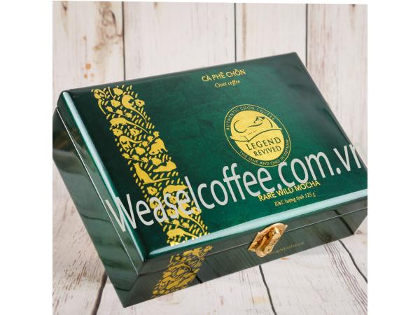Hộp cafe cao cấp Chồn Tự Nhiên 125 gram