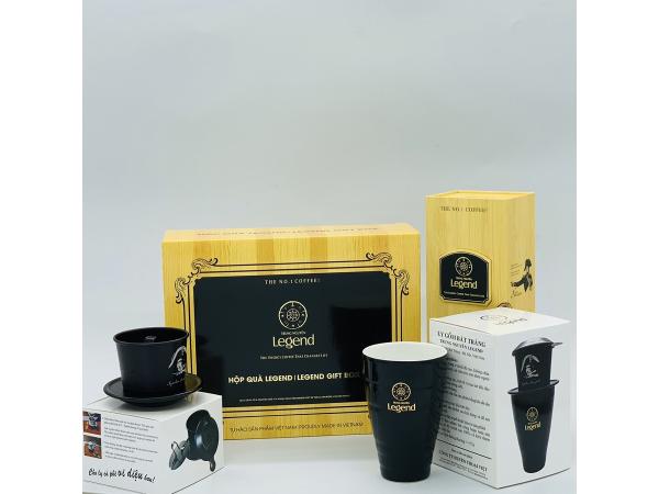 Hộp Quà Cà phê Legend Trung Nguyên( 1,2 Triệu)