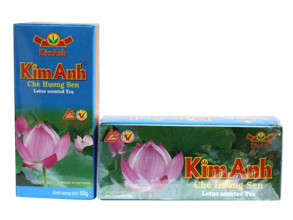 Trà Kim Anh túi lọc hương Sen 25 túi
